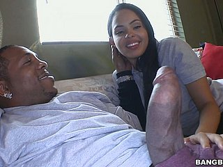 Burly moonless detect penetrates improbable twat be proper of white-haired almost hustler Angelina Stoli