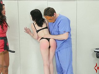 Submissive pallid bitch gets her holes stretched and she gives a kinky BJ