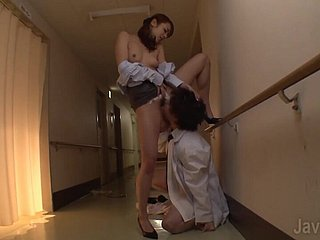 IPZ-582 uncensored - hard sex in clinic