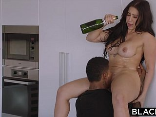 Curvy Latina Gets Dominated By A Famous Rapper