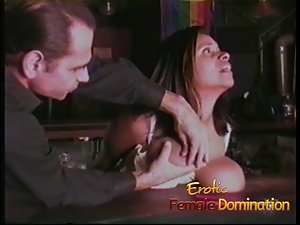 Domineer brunette tries out despotic submission for be passed on mischievous time