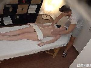 Czech Rub down - Stop heated my pussy!
