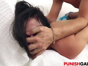 X Teen Kymberlee Anne Gets Punished