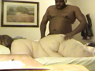 SSBBW does anal give unintentional black panhandler