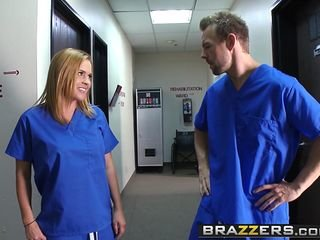 Brazzers - Weaken Adventures - Unhealthy Nurses scene starring Krissy Lynn increased by Erik Everhard