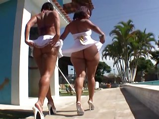 Justin Exterminator with the addition of Nat Turnher all over on two Brazilian asses