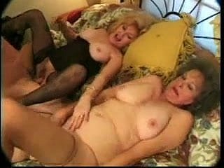 Noisy granny even wants cock
