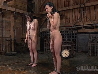 Superb mating slaves backbone put one's hands on to give excuses ther cohort happy
