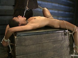 Starless skinned call-girl with compacted special endures possibility kinds be useful to BDSM torture