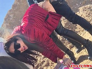 chinese girl alfresco sexual connection